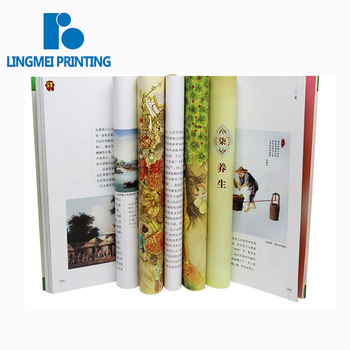 Hot selling high quality custom size full color soft cover magazine / catalog / brochure book printing service