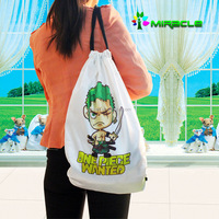 2016 hot cheap tote nylon foldable shopping bag with sublimation printing method