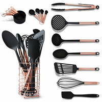 16 piece cooking utensils all purpose kitchen tools gadgets for kitchen