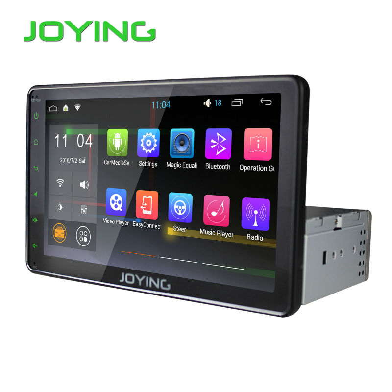 8 inch full touch screen android single 1 din car stereo. Black Bedroom Furniture Sets. Home Design Ideas