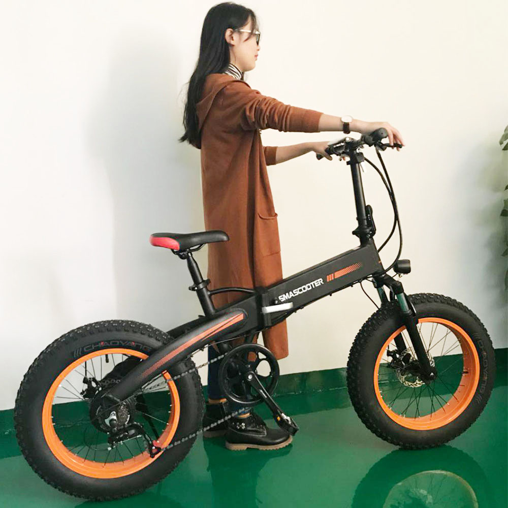 Drop Shipping 20 inch Low Price Electric Bike <strong>Folding</strong> Fat Tire Ebike Electric Dirt Bicycles for Adults