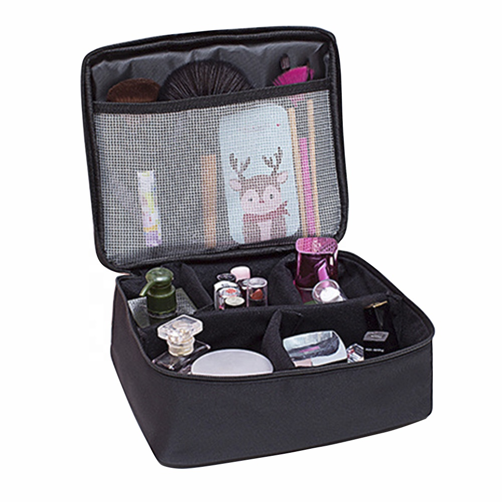 Travel Makeup Bag <strong>Cosmetics</strong> Portable Make Up Bag Organizer and Toiletry Organizer