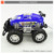 Plastic friction big wheels tow truck speed car toys for kids