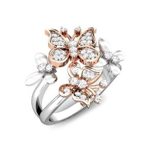 new model butterfly wedding ring,wedding ring set free sample available