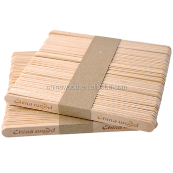 Best manufacturer wholesale wooden ice cream stick
