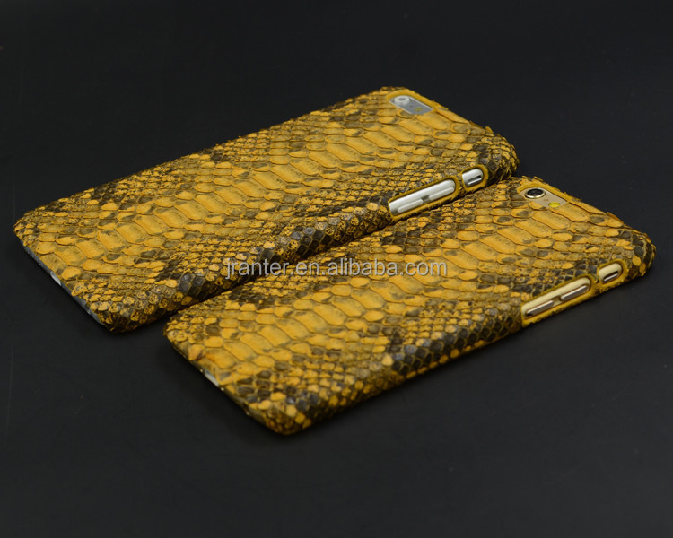 Jranter Real Python TPU Custom Brand Name Phone Case For iPhone 6/7/8X