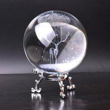 Олень хрустальный шар украшение дома отправить девушка Жена Отправить муж подарок бойфренду на день рождения статуя оленя Миниатюрная мод...(Китай)