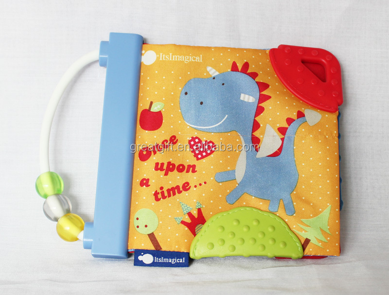 Baby Cloth Book With A Handle,Children Early Education ...