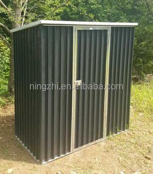 Storage Kit Diy Backyard Metal Building Doors Outdoor Steel Garden Shed