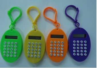Stock & Wholesale Different shape 8 Digits pocket promotional calculator