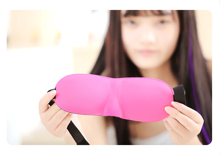 Wholesale hot custom travel sleeping eye mask , eye sleep mask