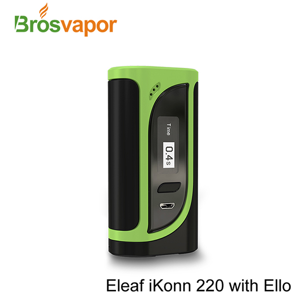 Oringal Newest Eleaf iKonn 220 Kit with Ello tank Eleaf iKonn 220 W mod TPD Ecig