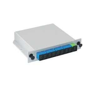 Factory Directly Insertion /Cassette/plug in type PLC Splitter