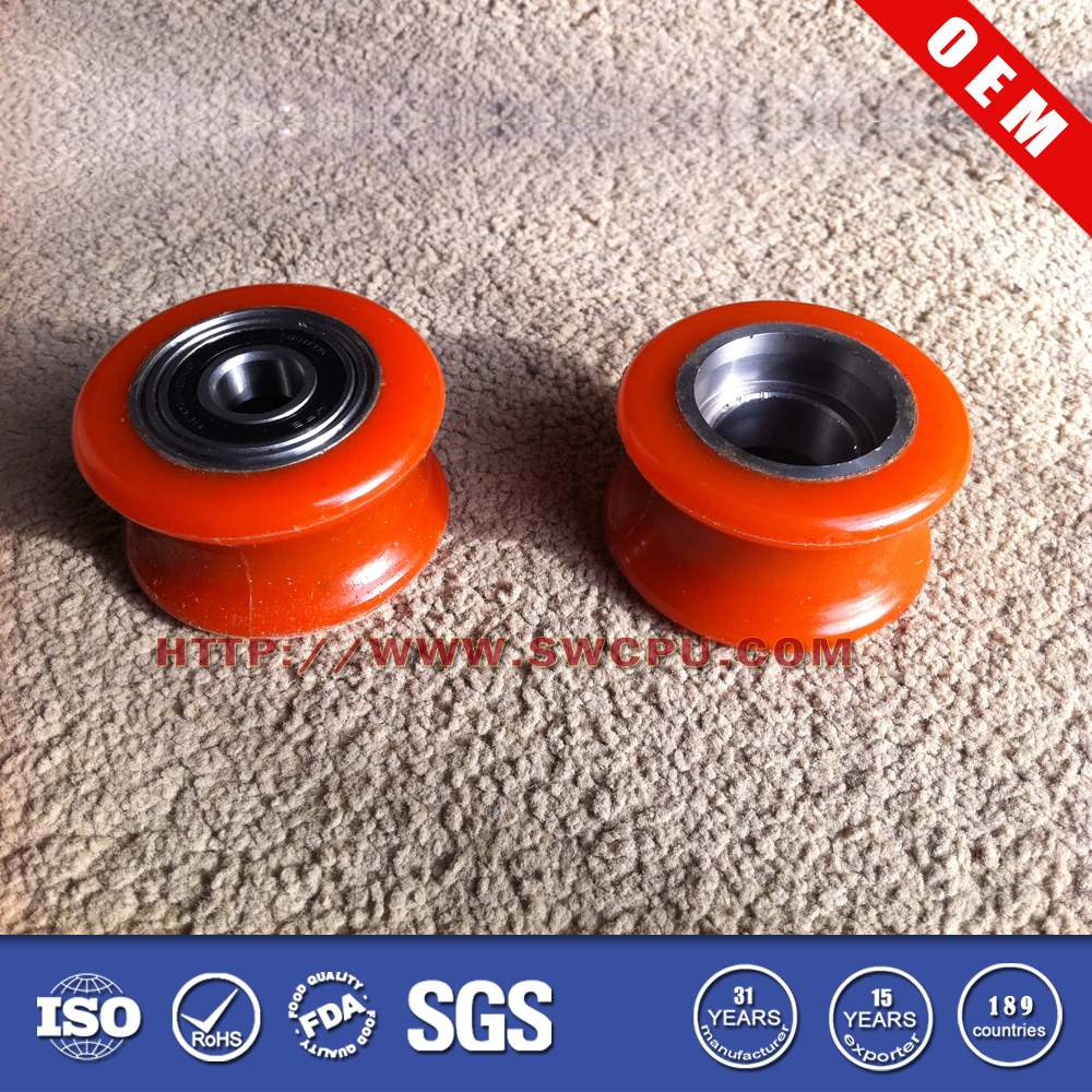High quality custom small plastic curtain pulley