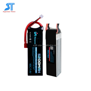 Li-polymer 7.4V 5000mAh 20C battery pack with hardcase for RC car