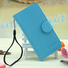 Small MOQ Wholesale Lychee Grain Wallet Flip Leather Cover Case for Wiko Lenny
