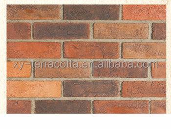 Faux muro di mattoni di pietra uomo fatto di pietra decorativi da