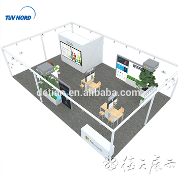 Exhibition Stall For Rent : Detian offer exhibition stall design fabrication for rent buy