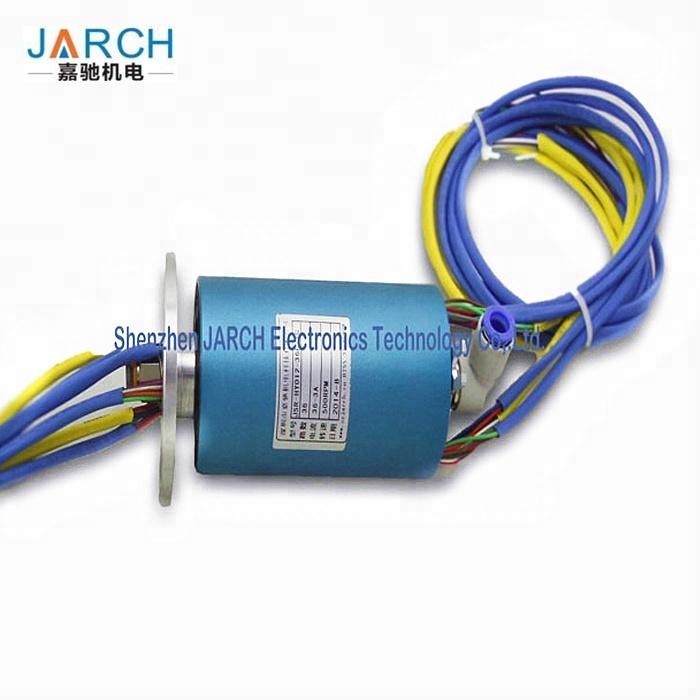 Mini Electrical Circuit Noise High Pressure Pneumatic Electrical Slip Ring