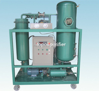 Vacuum Evaporation System Equipped Dirty Turbine Oil Recovery Machine/Removing Free Water and Dissolved Water