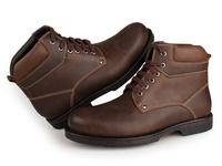 1003C8 J.M.D Genuine Leather Shoes Brown Comfortable Men's Boots