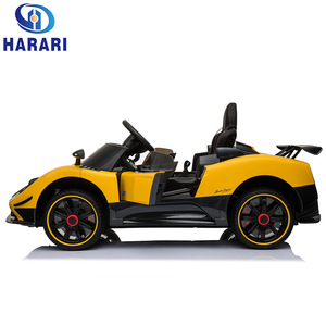 Hot selling items open door plastic electric toy ride on car for kids baby children