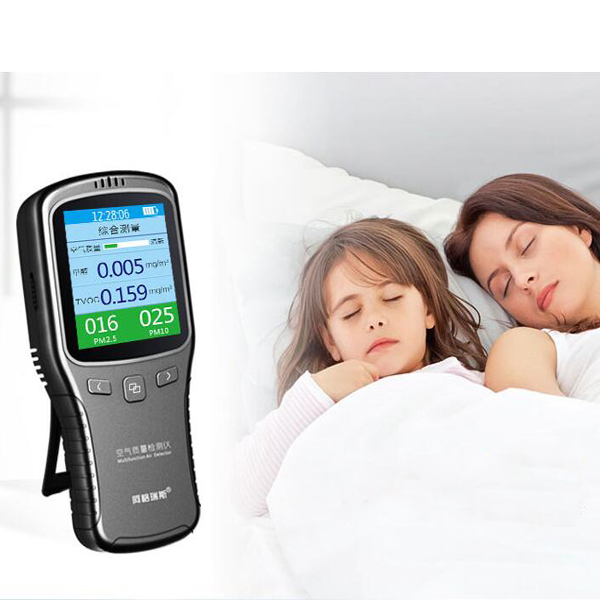Carbon Dioxide Measuring System Indoor Air quality monitor with APP control