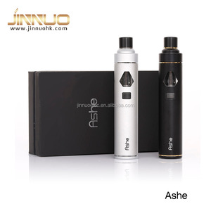 New arrival! eGo AIO start kit e cig All In One battery with LED vapor smoke