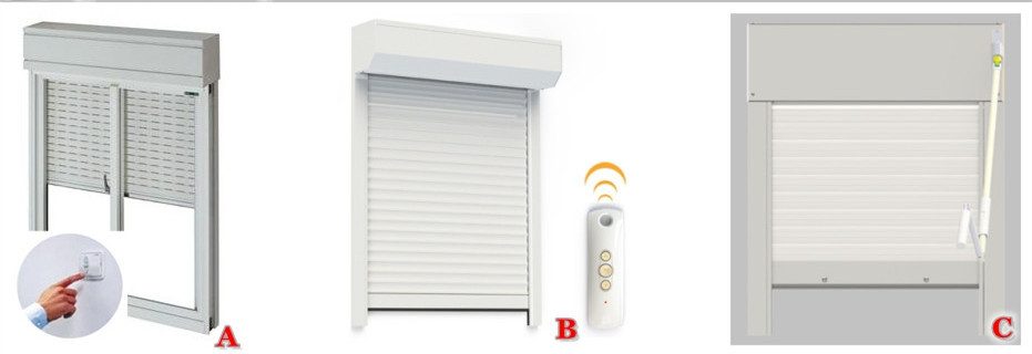 German electric window shutters exterior buy sliding - Electric window shutters interior ...