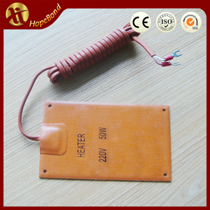 Electric water boiler heating element, silicon rubber flexible heater, heating elemtns