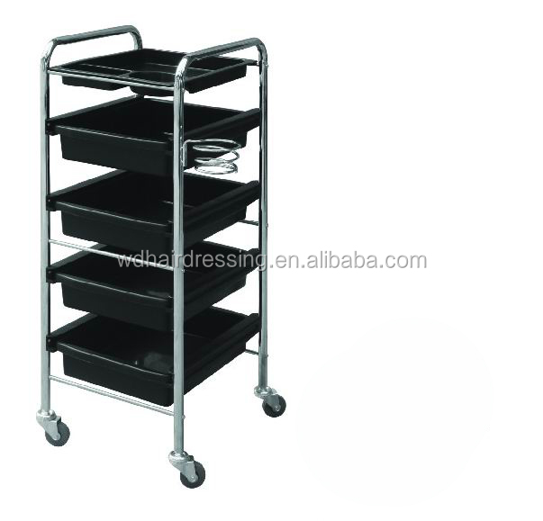 Multi-tier Hair Salon Trolley For Barber