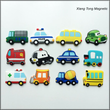Promotional Custom Car Shape Fridge Magnet 3d flexible Rubber Fridge Magnet