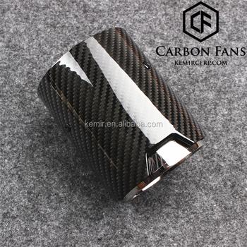 Carbon Fibre M Performance Exhaust Tail Pipe Set For M2 F87 M3 F80 M4 F82  F83 M5 F10 M6 F12 F13 X5m X6m - Buy Carbon Fibre Exhaust Tip,M Performance