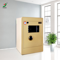 2016 hot selling home use double lock system digital safe money box