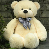 Cuddly 80cm big teddy bear cheap teddy bear stuffed animals plush toys giant teddy bear