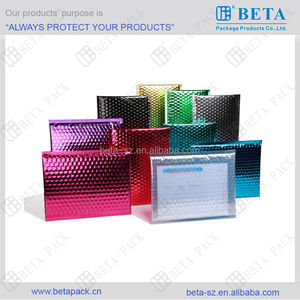 Glamour Metallic Cd, Dvd & Folder Bubble Mailing Envelopes
