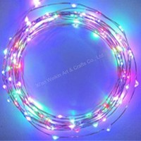 Energy saving solar led garland string light with good quality