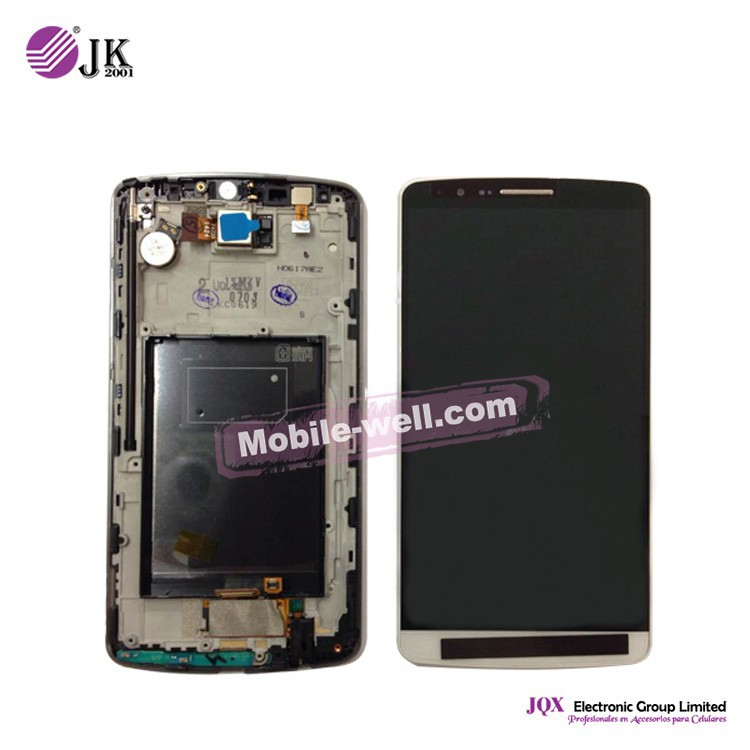 [JQX] Mobile Phone Spare Parts for lg g3 lcd ,5.5 inches for lg g3 d858 d855 d859 lcd touch screen