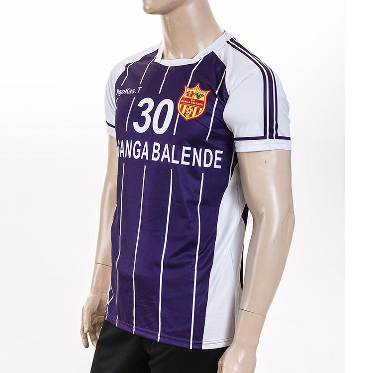 Wholesale blank football shirt maker sublimation custom for Online custom shirt maker
