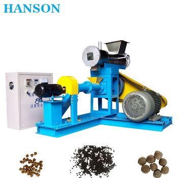 Automatic floating fish feed pellet machine/commercial fish feed pellet machine/ feed extruder