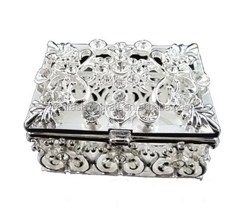Wedding favors guest gift white Metal Crystal Rhinestone Jewelry