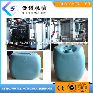20L HDPE Jerrycan Bottle Plastic Extrusion Blown /Blowing Machinery
