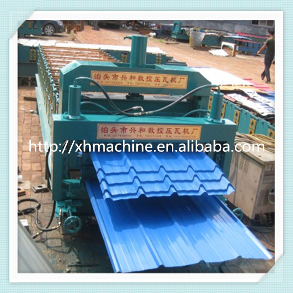840 Glazed -900 Double Layer Metal Roofing Sheet Trapezoid Profile Roll Forming Making Machine for Sale
