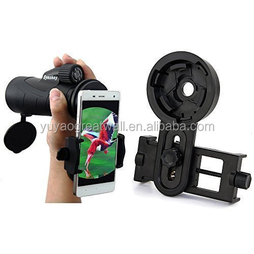 Universal Monocular Telescope Mount DSLR Adapter Mount Quick Photography Telescope Holder for Cell Phone