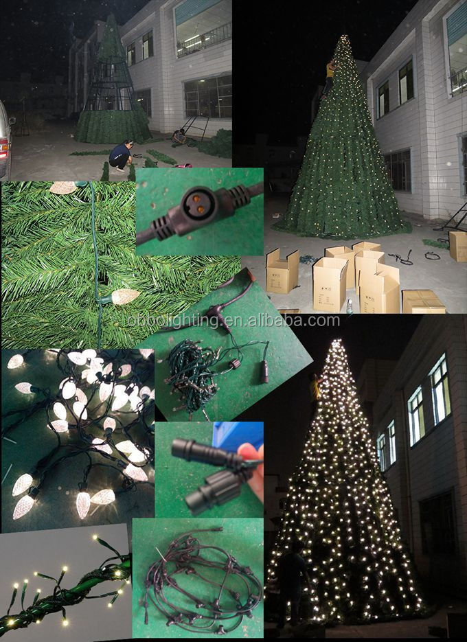Outdoor Indoor Hanging Illumination Low Voltage Giant Christmas ...