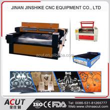 acrylic/metal coating/wood automatic laser cutting machine