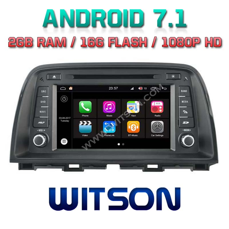 WITSON S190 7.1 CAR DVD PLAYER FOR MAZDA CX 5 2013 ORIGINAL BOSE AUDIO SYSTEM SUPPORT 2G DDR3 1080P HD
