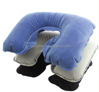 Travel air inflatable neck pillow for car