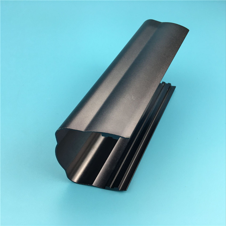 Manufacturing OEM Black Anodized Aluminum Profiles