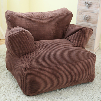 Surprising Visi Classic Corduroy Couple Single Soft Bean Bag Sofa Cover Armchair Set Buy Couple Bean Bag Armchair Single Bean Bag Bean Bag Chair Product On Ncnpc Chair Design For Home Ncnpcorg